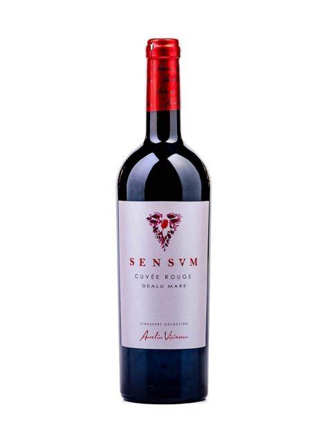 Vin Rosu Sec Aurelia Visinescu Sensum Cuvee Rouge, 75 cl