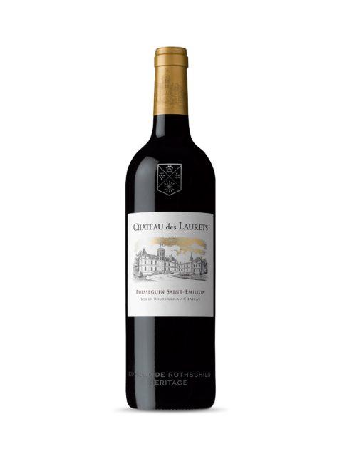 Vin Rosu Sec Chateau de Laurets Edmond de Rothschild, 75 cl