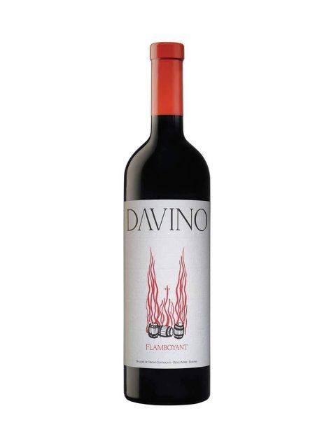 Vin Rosu Sec Davino Flamboyant 2016, 75 cl