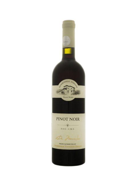 Vin Rosu Demidulce Domeniile Tohani Pinot Noir, 75 cl