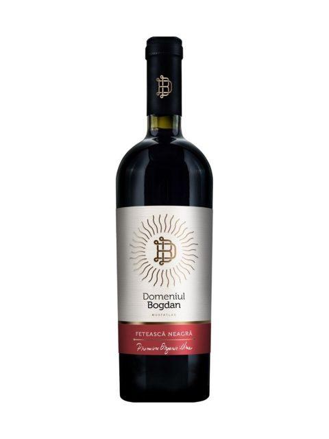 Vin Rosu Sec Domeniul Bogdan Premium Feteasca Neagra, 75 cl