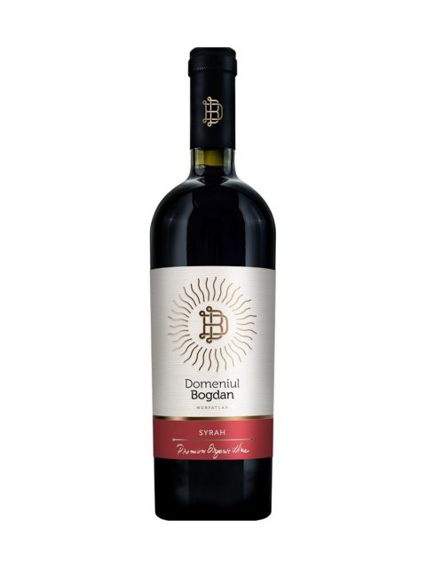 Vin Rosu Sec Domeniul Bogdan Premium Syrah, 75 cl