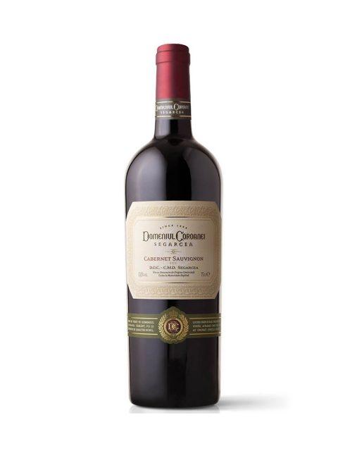 Vin Rosu Sec Domeniul Coroanei Segarcea Prestige Cabernet Sauvignon, 75 cl