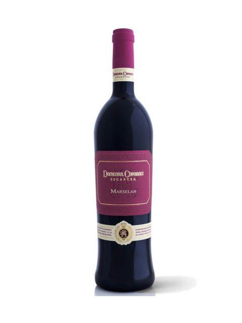 Vin Rosu Sec Domeniul Coroanei Segarcea Prestige Marselan, 75 cl