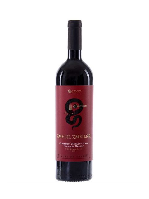 Vin Rosu Sec Domeniul Muntean Zmeul Zmeilor Limited Edition, 75 cl