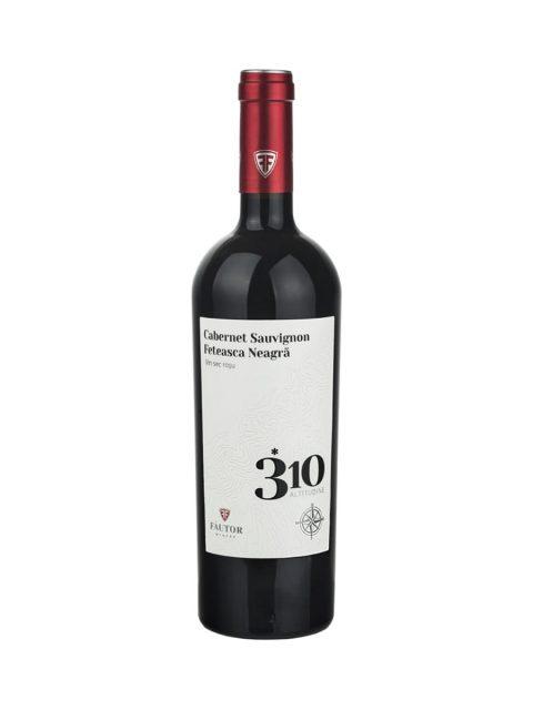 Vin Rosu Sec Fautor 310 Altitudine Cabernet Sauvignon & Feteasca Neagra, 75 cl
