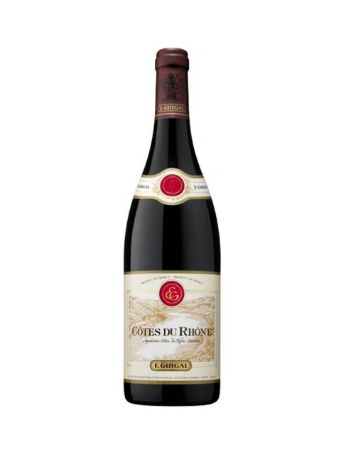 Vin Rosu Sec Guigal Cotes du Rhone Rouge, 75 cl
