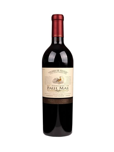 Vin Rosu Sec Paul Mas Vignes de Nicole Cabernet Sauvignon Syrah, 75 cl