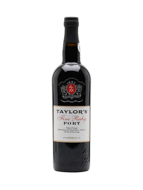 Vin Rosu Dulce Taylor's Fine Tawny Vin de Porto, 75 cl