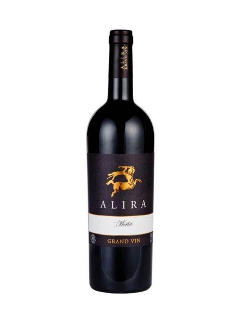 Vin Rosu Sec Alira Grand Vin Merlot, 75 cl