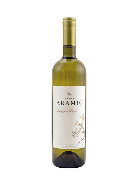 Vin Alb Sec Aramic Sauvignon Blanc, 75 cl