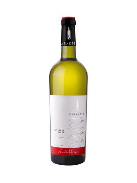 Vin Alb Sec Aurelia Visinescu Karakter Sauvignon Blanc, 75 cl