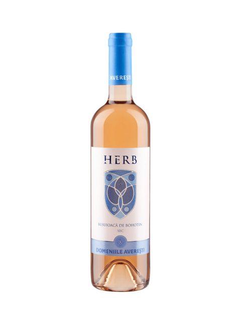 Vin Rose Sec Averesti Herb Busuioaca de Bohotin, 75 cl