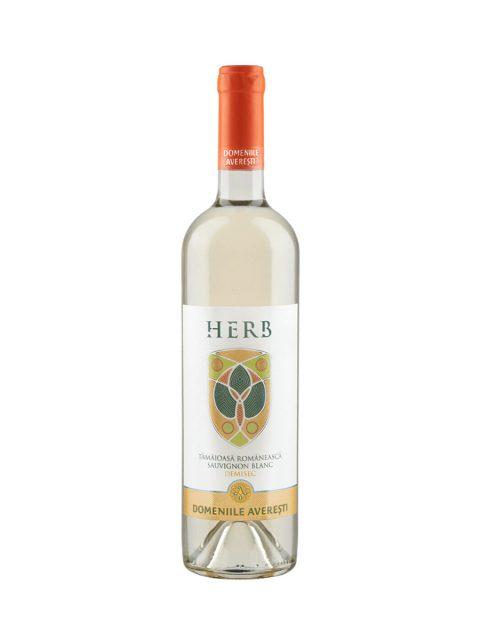 Vin Alb Demisec Averesti Herb Tamaioasa Romaneasca & Sauvignon Blanc, 75 cl