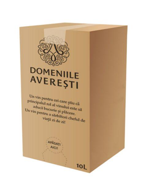 Vin Alb Demisec Averesti Sauvignon Blanc BIB, 10 l