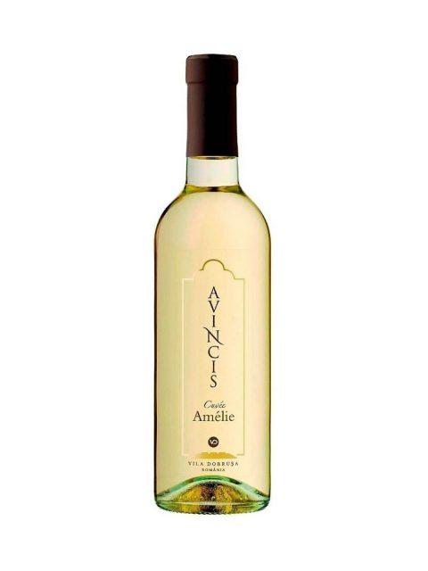Vin Alb Dulce Avincis Cuvee Amelie, 375 ml