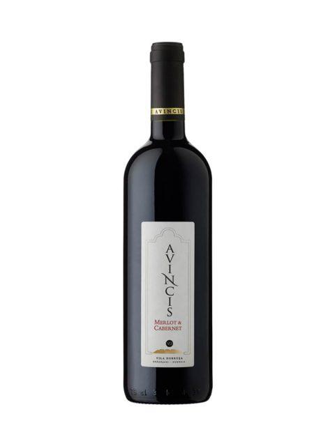 Vin Rosu Sec Avincis Merlot & Cabernet Sauvignon, 75 cl