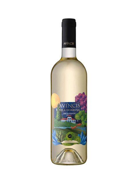 Vin Alb Sec Avincis Vila Dobrusa Feteasca Regala & Pinot Gris & Tamaioasa, 75 cl