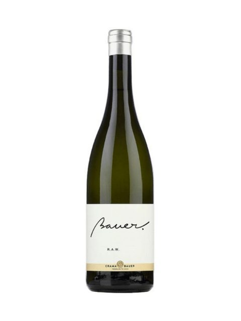 Vin Alb Sec Bauer RAW Sauvignon Blanc, 75 cl