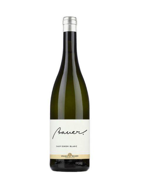 Vin Alb Sec Bauer Sauvignon Blanc, 75 cl