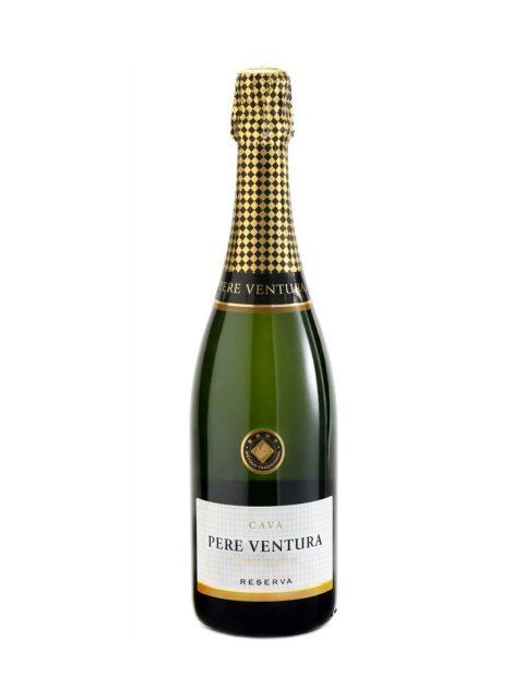 Vin Spumant Alb Brut Cava Pere Ventura Primer Reserva, 75 cl