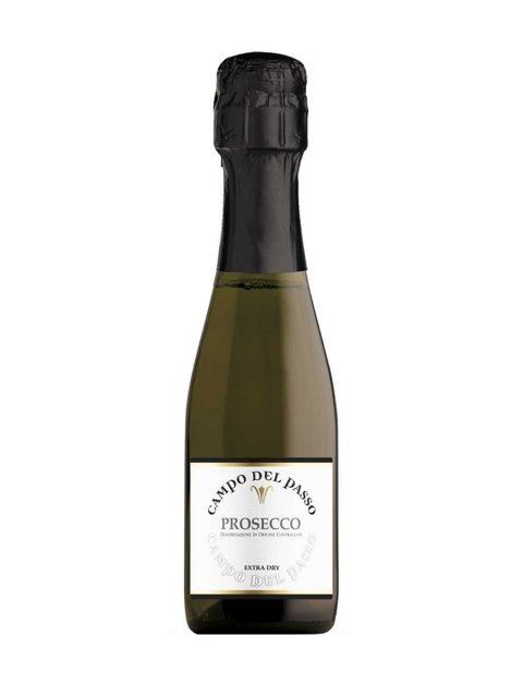 Vin Spumant Alb Extrabrut Campo Del Passo Prosecco Frizzante DOC, 200 ml