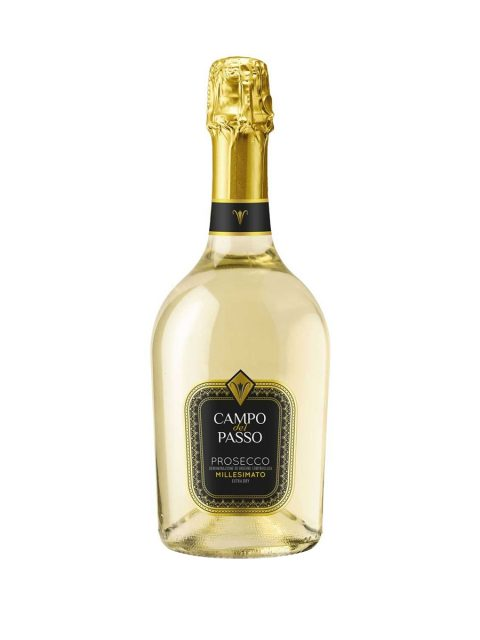 Vin Spumant Alb Extrabrut Campo Del Passo Prosecco DOC Millesimato, 75 cl