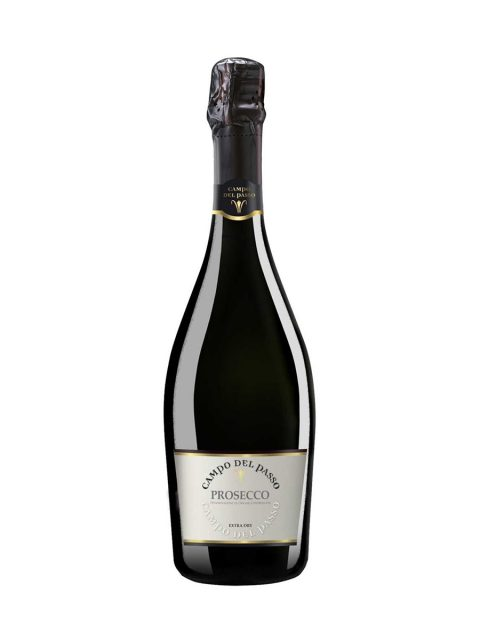Vin Spumant Alb Extrabrut Campo Del Passo Prosecco Spumante DOC, 75 cl
