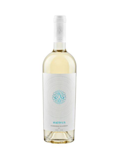 Vin Alb Sec Chardonnay de Averesti Nativus, 75 cl