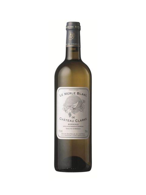 Vin Alb Sec Chateau Clarke Baron Edmond de Rothschild Le Merle Blanc, 75 cl