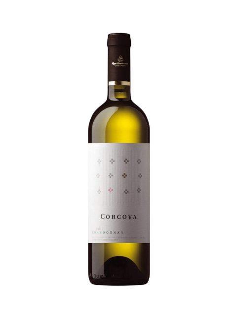 Vin Alb Sec Corcova Chardonnay, 75 cl