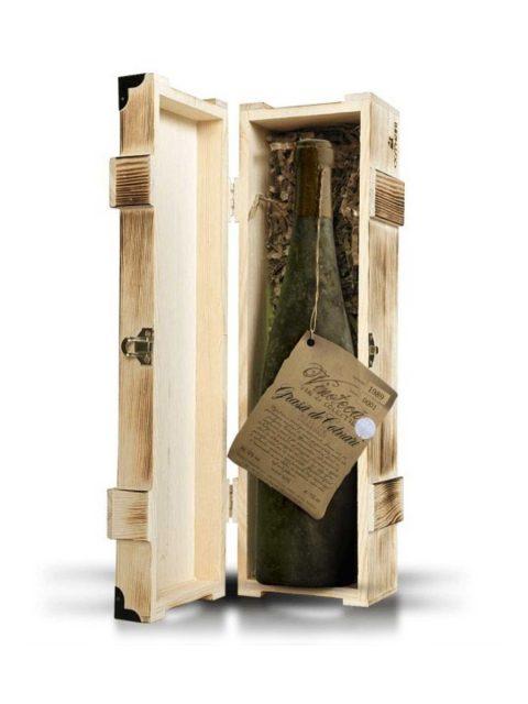 Vin Alb Dulce Cotnari Vinoteca 1989 Cutie Lemn Grasa De Cotnari, 75 cl
