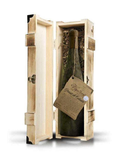 Vin Alb Dulce Cotnari Vinoteca 2005 Cutie Lemn Grasa De Cotnari, 75 cl