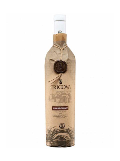 Vin Alb Demidulce Cricova Hartie Chardonnay, 75 cl