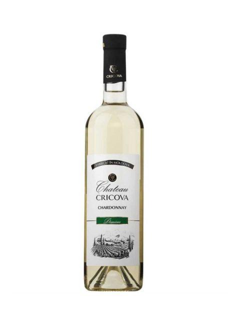Vin Alb Demisec Cricova Chateau Chardonnay, 75 cl