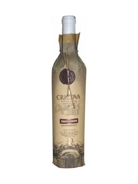 Vin Alb Demidulce Cricova Hartie Sauvignon Blanc, 75 cl