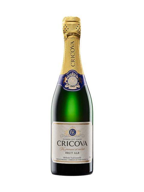 Vin Spumant Alb Brut Cricova Clasic, 75 cl