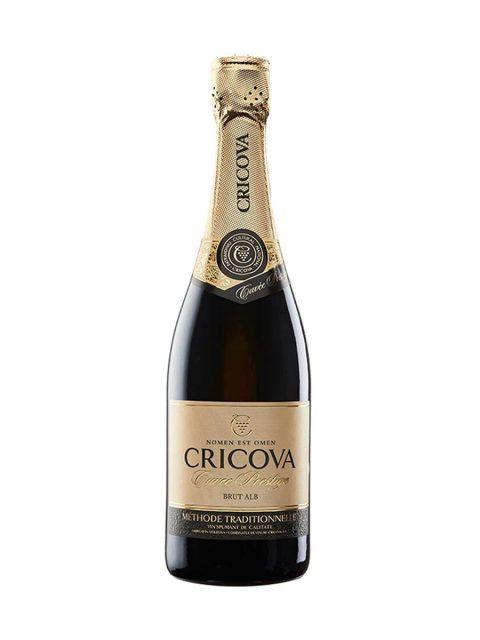 Vin Spumant Alb Brut Cricova Cuvee Prestige, 75 cl