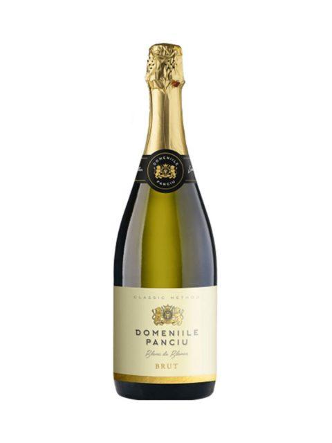 Vin Spumant Alb Brut Domeniile Panciu Blanc de Blancs, 75 cl