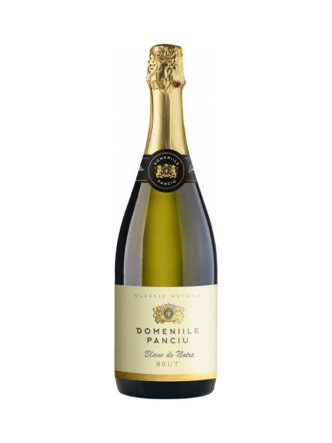 Vin Spumant Alb Brut Domeniile Panciu Blanc de Noirs, 75 cl
