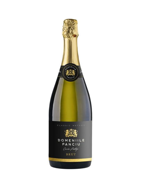 Vin Spumant Alb Brut Domeniile Panciu Cuvee Prestige, 75 cl
