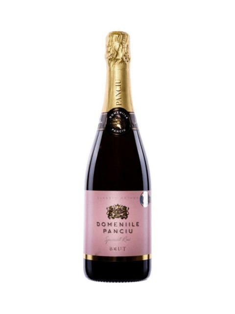 Vin Spumant Rose Brut Domeniile Panciu, 75 cl