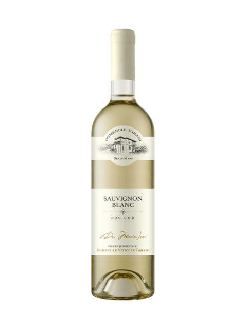 Vin Alb Demisec Domeniile Tohani Sauvignon Blanc, 75 cl