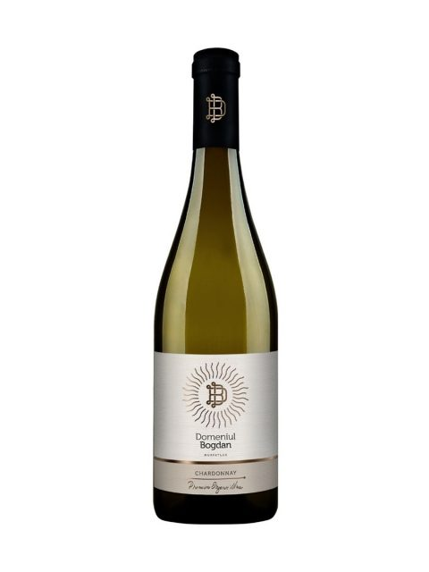 Vin Alb Sec Domeniul Bogdan Premium Chardonnay, 75 cl