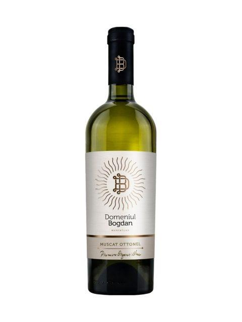 Vin Alb Sec Domeniul Bogdan Premium Muscat Ottonel, 75 cl