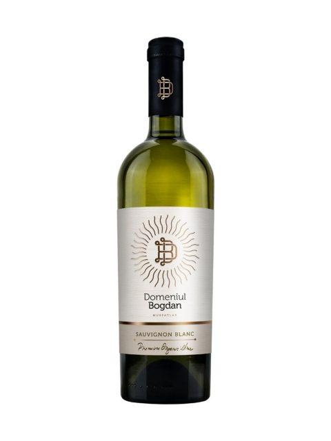 Vin Alb Sec Domeniul Bogdan Premium Sauvignon Blanc, 75 cl