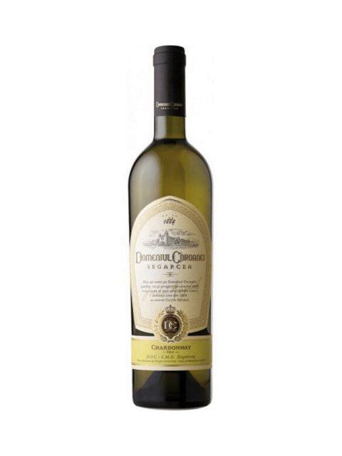 Vin Alb Sec Domeniul Coroanei Segarcea Elite Chardonnay, 75 cl