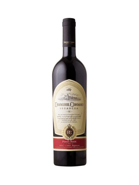Vin Rosu Sec Domeniul Coroanei Segarcea Elite Pinot Noir, 75 cl