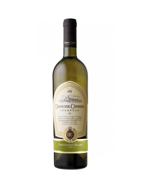Vin Alb Sec Domeniul Coroanei Segarcea Elite Sauvignon Blanc, 75 cl