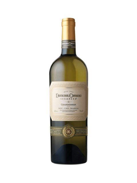 Vin Alb Sec Domeniul Coroanei Segarcea Prestige Chardonnay, 75 cl